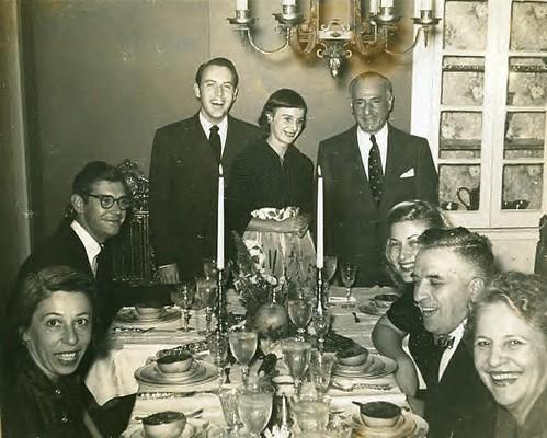 Nettie Pinks, Richard DuVale, Howard Otway, Florence Otway, Sam Kirschen, (?) (?) Anna Kirschen 1950-1