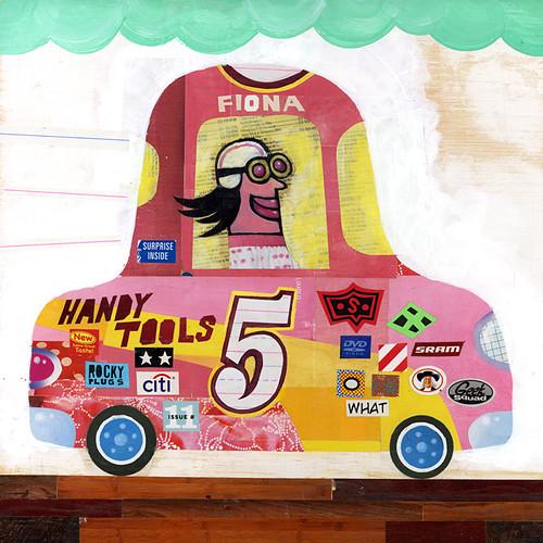 race car #5