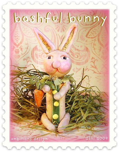 Bashful bunny for PFATT feb 10th 2009