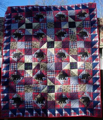 Bear with me quilt