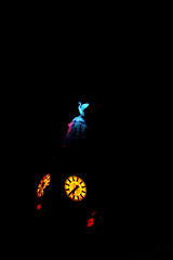 Transition 3 (Karen_O'D) Tags: light clock night liverpool merseyside liverbuilding capitalofculture liverpool08