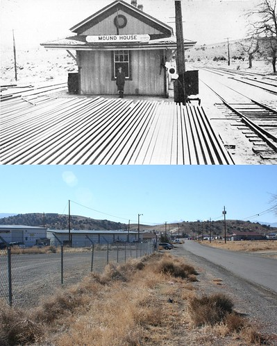 Mound House Depot Then and Now