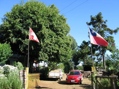 La Suisse au Sud du Chili à Ercilla