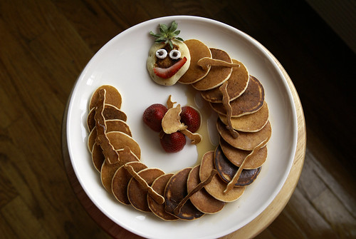 Caterpillar Pancakes 1.