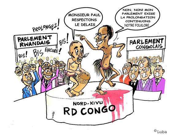 Départ des troupes rwandaises de la RDC