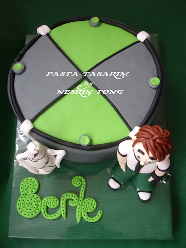 DSC07225-e BEN10 AND Omnitrix CAKE