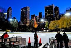 Wollman Rink (Lanamaniac) Tags: nyc newyorkcity winter light urban newyork cold ice night photography lights photo manhattan rink empirestate nikkor pm iceskatingrink d90 nikond90 lanamaniac lanamanaic strangerinnyc lanamaniacphotography