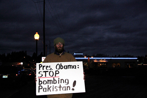 President Obama: Stop Bombing Pakistan!