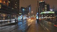 Tram Station HD Time Lapse (kebman) Tags: city bus car station oslo norway night lights evening timelapse video cityscape publictransportation traffic transportation hd natt tramstation