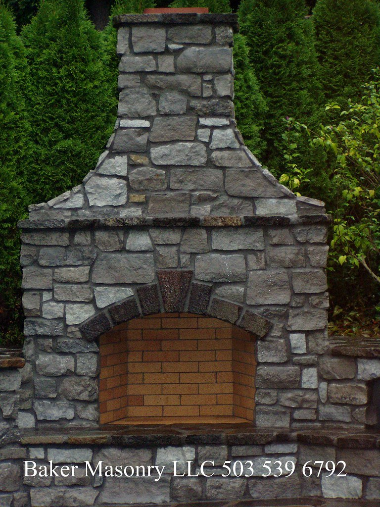 The world 39 s best photos of bbq and gates flickr hive mind for Outdoor fireplace portland oregon