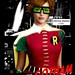 "BATMAN : Christina Hendricks as Robin in Frank Miller's (non-existent) ""Gotham City"""