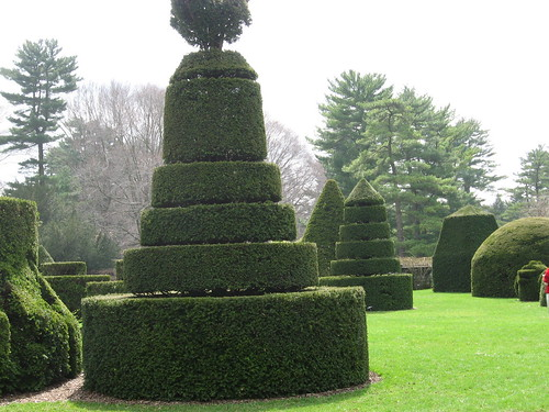 Topiaries at Longwood Gardens
