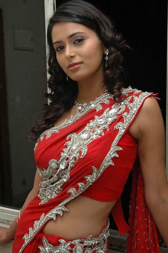 Hot Indian woman in red saree - a photo on Flickriver