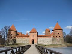 IMG_0802 (PrathibhaSastry) Tags: castle lithuania frozenlake trikai