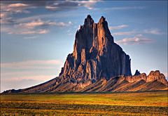 Standing at Shiprock (Dave Arnold Photo) Tags: pictures usa mountain newmexico southwest west canon us photo desert image photos native arnold picture pic images photograph american western sw navajo nm zia southwestus americanindian shiprock southwestern swusa desertsouthwest southwesternus westernusa navajonation westernus davearnold newmex nmexico nmex desertus davearnoldphoto davearnoldphotocom