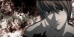 Light Yagami - Death Note (Kyle_KWC) Tags: brown abstract anime death awesome best note blacklight l kwc yagami lawliet