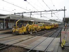 other work train heitkamp (giedje2200loc) Tags: train work de tren eisenbahn mow railways trainspotting chemin trein fer treinen spoorweg chemindefer railfanning ferrocaril theurer heitkamp plasser plasserandtheurer