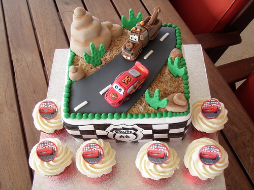 cars cake design. Disney Pixar Cars cake