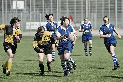 Frauen Rugby 2. Bundesliga USV Jena vs. RK03 Berlin
