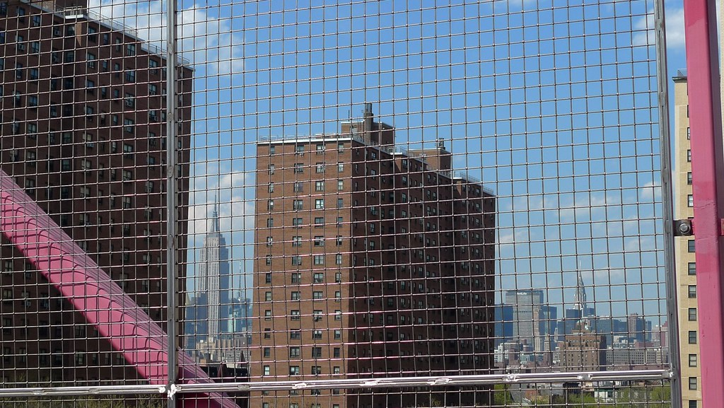 manhattan, from the williamsburg bridge