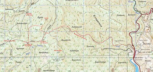 Mapa Eguide