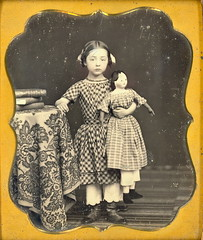 bigdoll (Mirror Image Gallery) Tags: doll daguerreotype antiquetoy antiquedoll