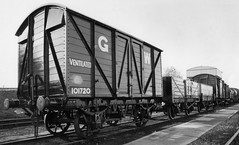 GWR Goods Train (nick baxter) Tags: old uk train goods steam didcot britian preservation wagons gwr gws