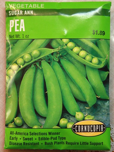 how to grow sugar ann snap peas