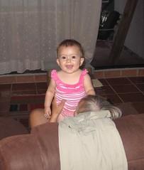 Sasha with grandma