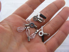 Handmade Kitchen Tools (Shay Aaron) Tags: scale kitchen miniature handmade knife 12th 112 tool dollhouse whisk pizzacutter