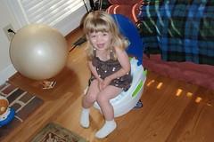 potty training, day 1