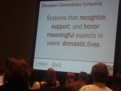 Susan Wyche - Extraordinary computing at CHI09