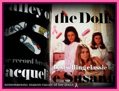 Valley of The Dolls(book cover)by Jaqueline susann
