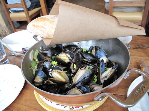 Mussels at the Publican