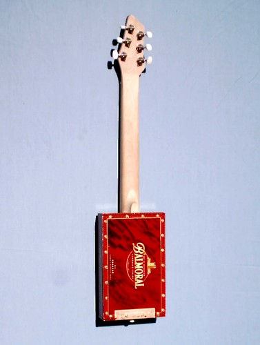 Cigar Box Guitar back