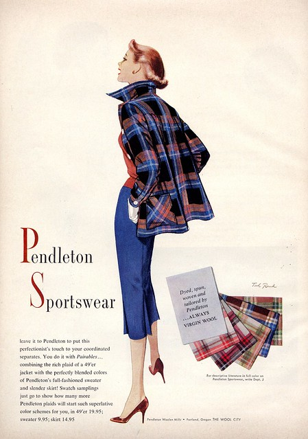 Vintage Pendleton Advertisement