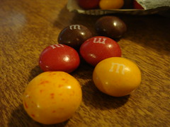 Strawberried Peanut Butter M&Ms