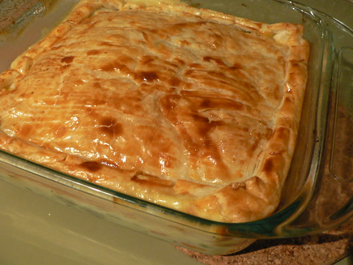 Vegetable & Eggs Pie