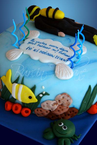 Diver Cake 1