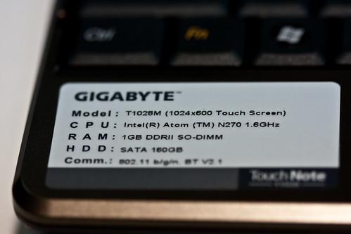 Rectron - New Gigabyte Netbooks-11