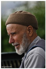 Turkish Wise Man II (lmcgeko) Tags: old man beautiful smile face turkey beard grey istanbul palace mature wise 1001nights bosphorous wizened dolmabahe nikon70200mmf28 nikond300 flickrestrellas lmcgeko nikonflickraward kongalath