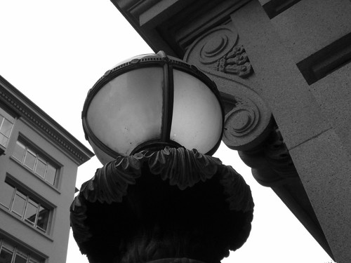 Lamp Globe BW
