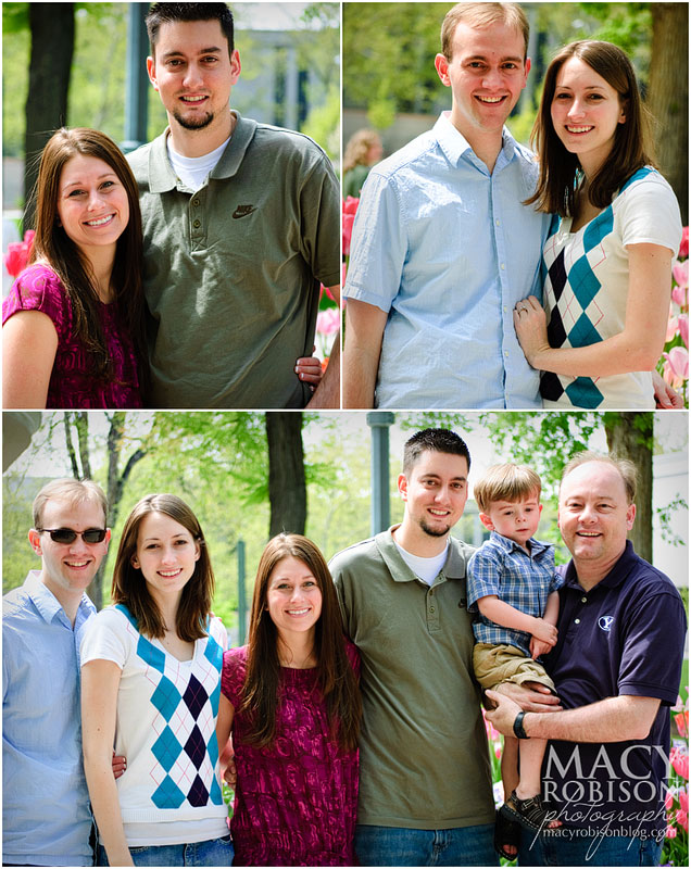 Temple Square Portraits