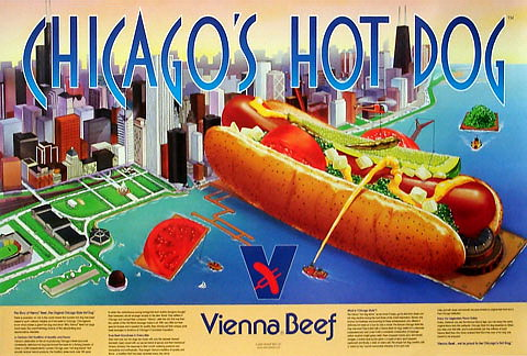 Chicago's Hot Dog