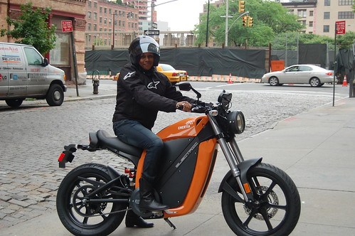 Test Drive Brammo Enertia Electric Motorcycle
