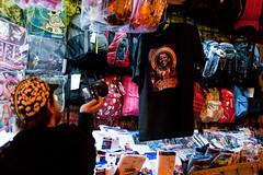 sean takes a photo of obama inauguration memorabilia (kate at yr own risk) Tags: sanfrancisco california mission missionstreet obamania seanreyolds