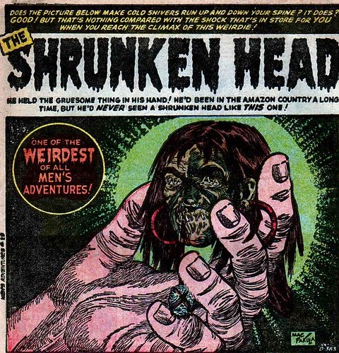 shrunken head 1 Atlas Men's Adventures 25