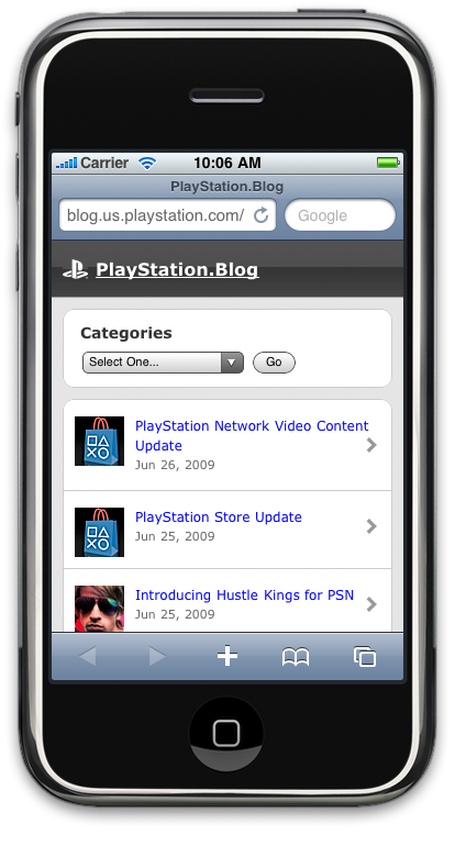 PlayStation.Blog mobile