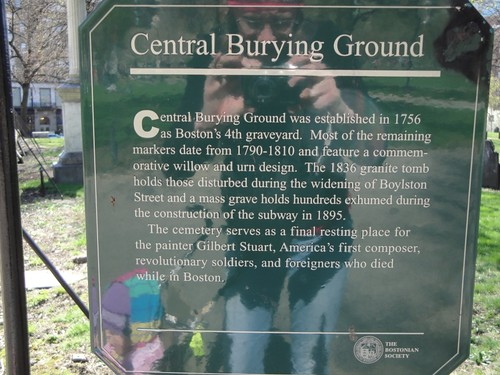 Central Burying Ground, Boston
