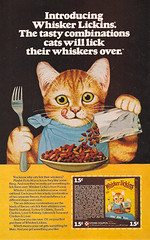 1976 Ralston Purina Whisker Lickins Cat Food Magazine Ad / Coupon (gregg_koenig) Tags: food cat vintage magazine ad whisker 70s 1970s 1976 ralston coupon purina lickins